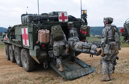 Stryker MEV loading